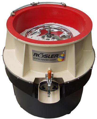 Wspaniały Maszyny do polerowania felg - sprawdź naszą ofertę maszyn firmy Rösler PK43